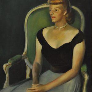 Portrait of Mrs. Clay Bartlett